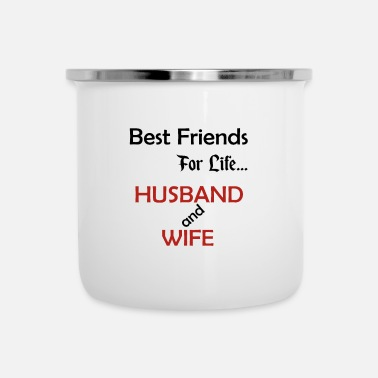 Married Couple Married couple best friends - Camper Mug
