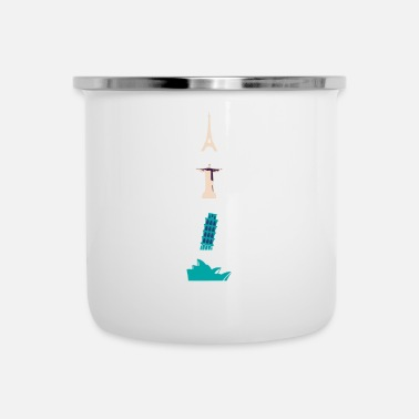 Attractive Attractions - Enamel Mug