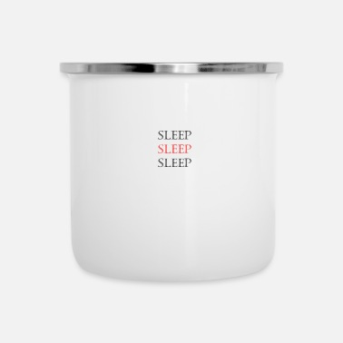 Sleeping Sleep Sleep Sleep - Enamel Mug