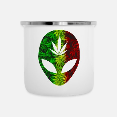 Rasta Rasta 420 Alien - Tazza smaltata