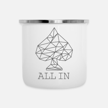 Schoppen All In - Emaille mok