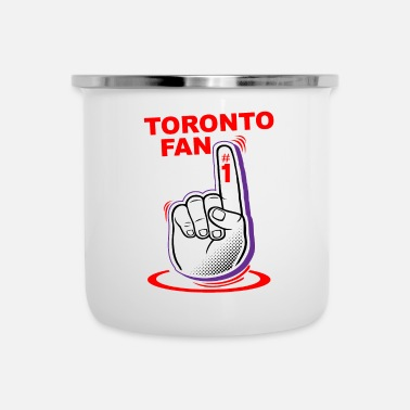 Fan Fan di Toronto - Tazza smaltata