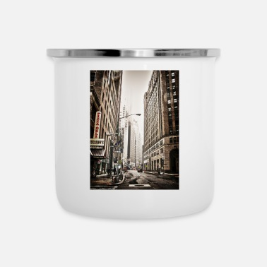 Nyc NYC - Emaille-Tasse