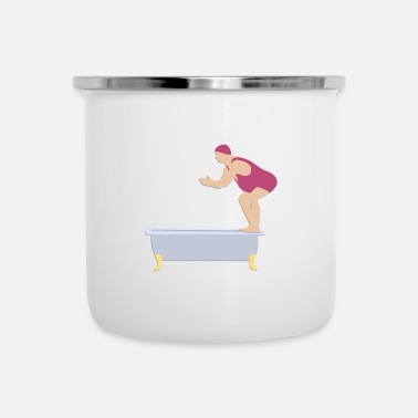 Topper Bath duikers - Emaille mok