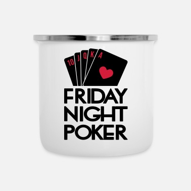 Holdem Friday Night Poker - Taza esmaltada