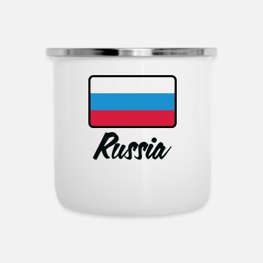 National Drapeau national de la Russie - Tasse émaillée