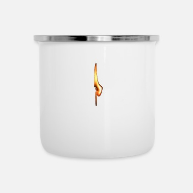 Fiammifero Abbina il regalo TShirt Survival Little Flame - Tazza smaltata