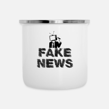 Fake Fake News - Emaljmugg