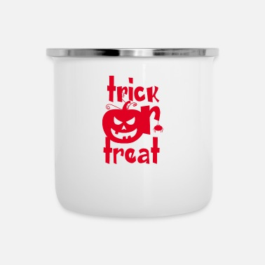 Trick Or Treat Trick or Treat - Emaille mok