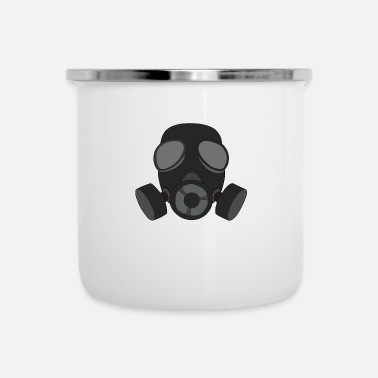 Gas Máscara de gas Máscara respiratoria Regalo Gas ABC Filter - Taza esmaltada