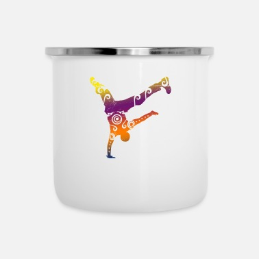 Hiphop Old School Maori Breakdance Tribal Tattoo cadeau drôle - Mug émaillé