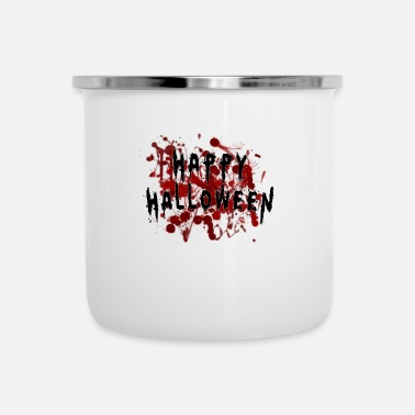 Sanguinante Felice Halloween sanguinante - Tazza smaltata