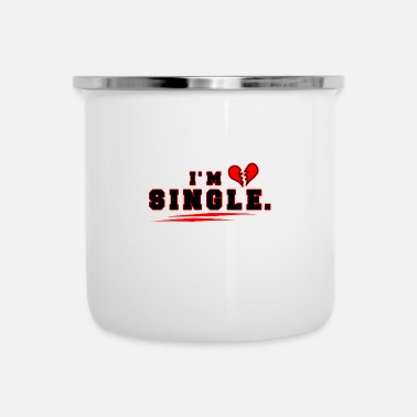 Single single - Emaille mok