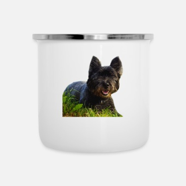 Style Hond Rocky Style 2 - Emaille mok