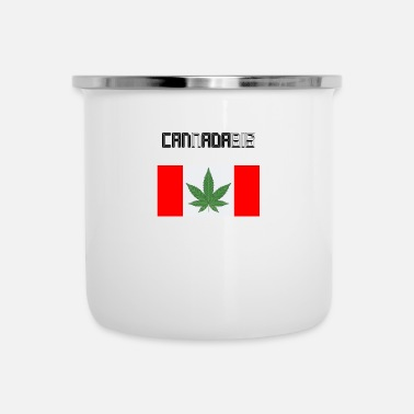 Cannabis Cannabis Marijuana Regalo Cannabis Legal - Taza esmaltada