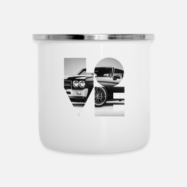 Chevy Chevy Chevelle - Emaille-Tasse