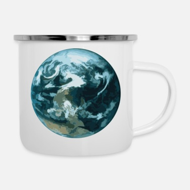 earth - Enamel Mug