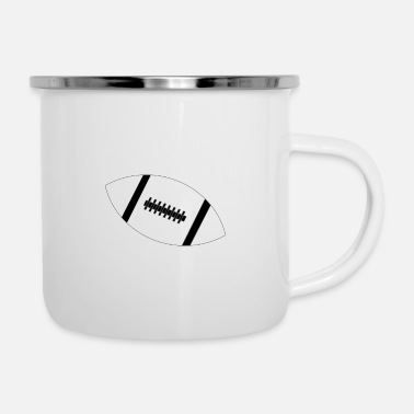 Football Love - Limited Edition - Enamel Mug
