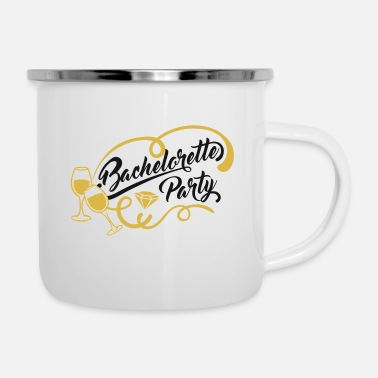 Party Bachelor Party Bachelorette Party - Emaljmugg