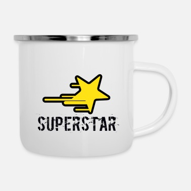 Superstar superstar - Enamel Mug