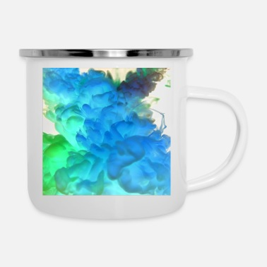 Farbe Farben - Emaille-Tasse