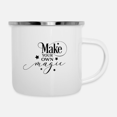Witch Make your own magic gift Halloween Monster Hex - Enamel Mug