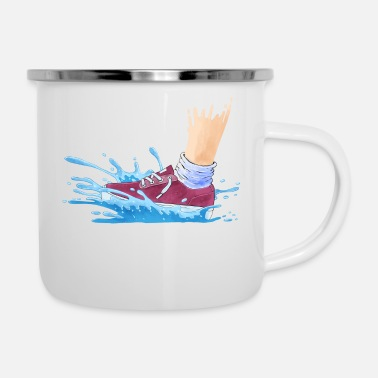Wet Wet Shoes - Enamel Mug