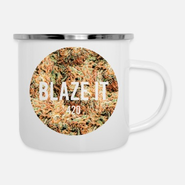 Blaze BLAZE IT - 420 - Enamel Mug