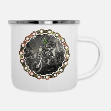 Undead undead riders - Emaille-Tasse
