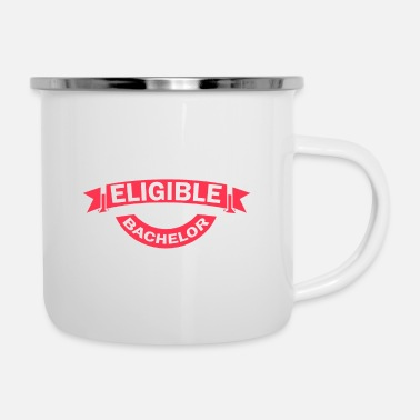 Abschied most eligible bachelor - Emaille-Tasse