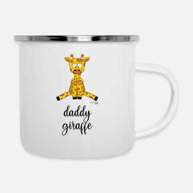 ZOOfamily Daddy Giraffe - Emaille-Tasse