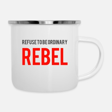 Rebellion REBEL - Enamel Mug