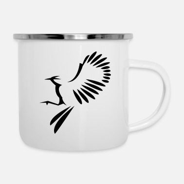 Bird Illustration Bird illustration - Enamel Mug