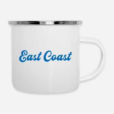 New Hamphire EAST COAST - Enamel Mug