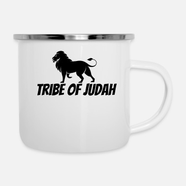 Semplice Tribe Of Judah - Christian - Tazza smaltata