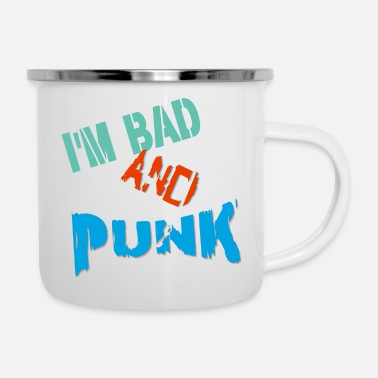 Band punk - Enamel Mug