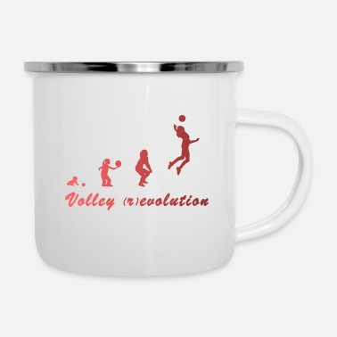 Volley Volley (r)evolution - Tazza smaltata