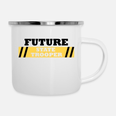 Trooper : Future State Trooper - Tazza smaltata