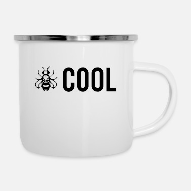 Bee Cool - Be Cool - Mug émaillé