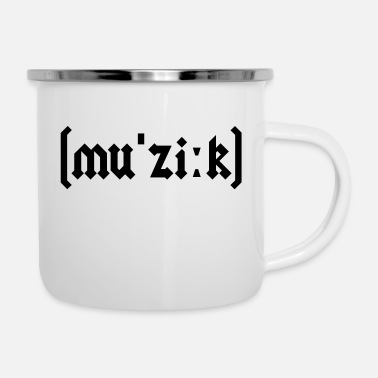 Metal Music Heavy metal music - Enamel Mug