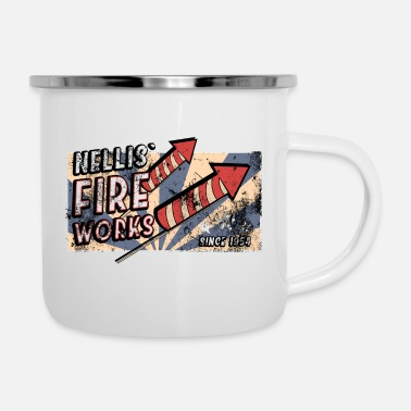 Fallout nellis fireworks 02 fallout - Emaille-Tasse