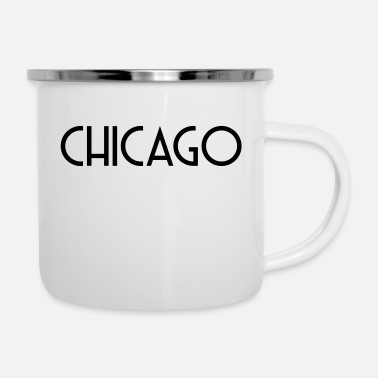 Chicago CHICAGO - Emaille-Tasse