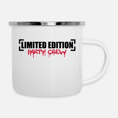 Party Limited Edition Party Crew Design - Enamel Mug