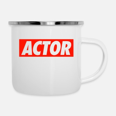 Actor Actor - Enamel Mug