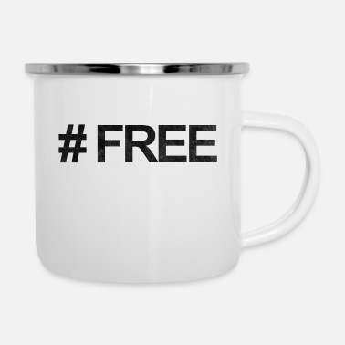 Free # FREE - Emaille-Tasse