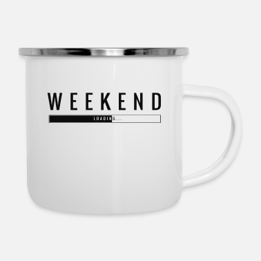 Weekend WEEKEND - Enamel Mug