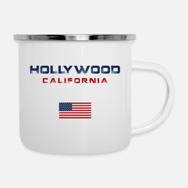 Hollywood Graphique hollywoodien - Tasse émaillée