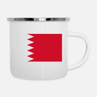 Mp3 Flag of Bahrain. - Enamel Mug