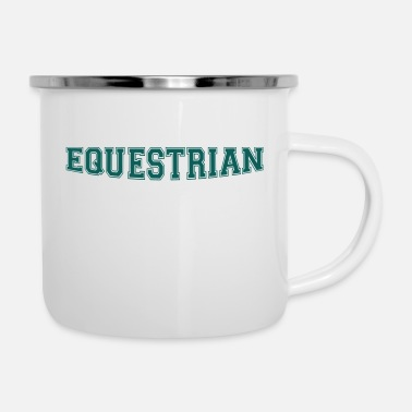Writing Equestrian Writing - Emaljekopp