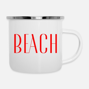 Easy Beach - Enamel Mug